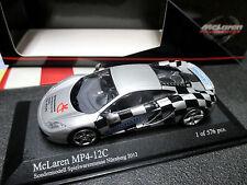 1/43 McLaren mp4-12c foire-modèle Nuremberg 2012 Minichamps 533 133023 MINT!