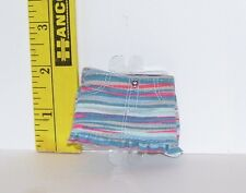 BARBIE STARDOLL BY MATTEL STRIPED DENIM SKIRT NEW FROM PACKAGE ACCESSORY