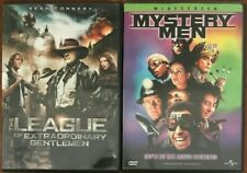 The League of Extraordinary Gentlemen/Mystery Men (Dvd, 2003)*Sean Connery