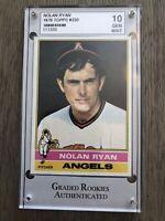 1976 Topps #330 NOLAN RYAN ANGELS GRA 10. 🔥HOT CARD🔥 **MAKE OFFER**