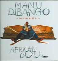 MANU DIBANGO - THE VERY BEST OF AFRICAN SOUL NEW CD