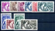 MONACO 1941 247-256 ** POSTFRISCH TADELLOS SATZ 90€(49840