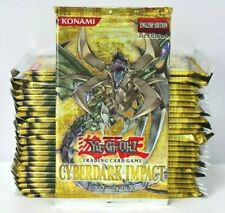 Cyberdark Impact 1st Edition Yugioh (LOOSE Booster Box) 24 Unsearched Packs