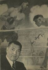 Jack Dempsey - Boxing - Signed 8x10 Photograph