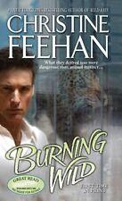 Burning Wild (A Leopard Novel) by Christine Feehan