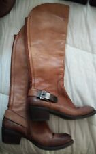 Vince Camuto Brown Tall Riding Winter Flat Boots 6.5