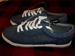 New Express Sneakers Denim Men Sizes 8, 9, 10 or 11 (C76)