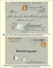 Switzerland covers Collection SITZENDE HELVETIA specialised  2 COVERS