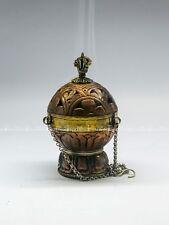Decorative Tibetan Hanging Metal Craft Incense Burner Classical Buddhist