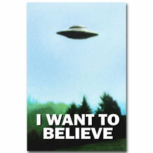 75122 I WANT TO BELIEVE - The X-Files Wall Print POSTER UK