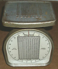 1954 RARE PELOUZE Y-25 POSTAL SCALE VERY COOL COLLECTIBLE THAT YOU CAN USE LOOK!