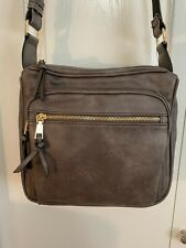"Jessie & James ""RFID BLOCKING"" CONCEALED CARRY Lock n' Key CROSSBODY - GRAY"