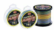 1m//010€ WFT Plasma Multi color je 100m geflochtene Schnur Round Angelschnur