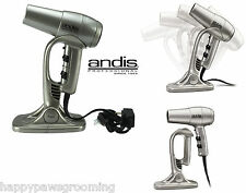 Andis Comfort Ionic/Ceramic Pet CAT DOG HAIR DRYER w/STAND*Quiet Yet Powerful