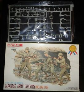 1995 DML # 6044 1:35 Scale Figures - Japanese Army Infantry Iwo Jima 1945.