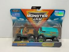 Monster Jam True Metal Scooby-Doo and The Mystery Machine 2-Pack, NEW!