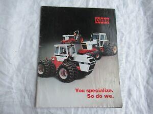 Case buyers guide 885 995 1410 1570 2870 1175 tractor brochure