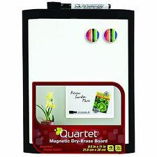 New listing Quartet Magnetic Dry-Erase Board, 8 1/2 x 11 Inches, Black Frame Mhow8511-Bk