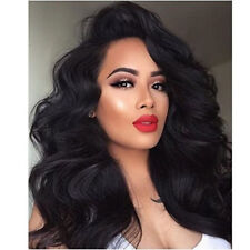 """22"""" Pre plucked Body Wave Front Lace Full Wig W/Baby Hair Bleached Knots Wigs"""