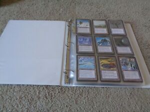 Ice Age Complete Set w/ Mana Mtg Magic the Gathering English Vintage 1995 Snow