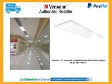 Verbatim LED Slim Panel 1195 x 295 x 11mm 4000lm 5000K 40W w/plug & lead # 65819