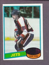 1980-81 Topps Hockey Willy Lindstrom #142 Winnipeg Jets NM/MT
