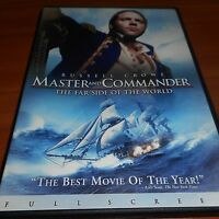 Master and Commander: Far Side of the World (DVD, 2004, Full Screen)