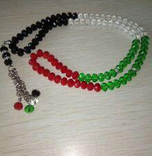 Crystal Tasbeeh, Palestine, Gaza Prayer 99 Beads, Prayer, Islam, Gift, Muslim