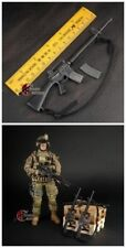 1/6 Rifle Gun Model US Army Black Weapon M16 F 12'' Soldier Action Figure Toys