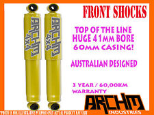 HOLDEN FRONTERA MX 1999-2003 FRONT 41mm BORE FOAM CELL ARCHM4x4 SHOCK ABSORBER