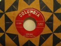 "FRANK  SINATRA & HARRY JAMES     7""  SINGLE ,  CASTLE  ROCK  /  DEEP  NIGHT"