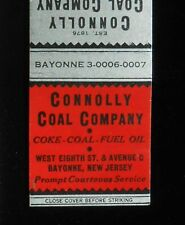 1930s? Connolly Coal Company Coke Fuel Oil Est. 1876 8th St Bayonne NJ Hudson Co
