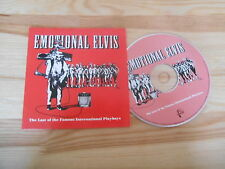 CD Indie Emotional Elvis - Last Of Th Famous Int Playboys (15 Song) Promo HARING