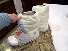 White Crocs winter boots, sz. 7 W, NWT