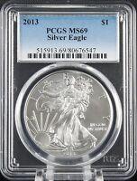 2013 Silver Eagle PCGS MS 69
