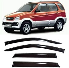 For Daihatsu Terios 1997-2006 Window Visors Side Sun Rain Guard Vent Deflectors