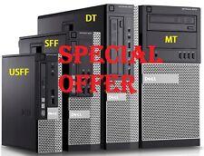 Dell Optiplex 790 3010 SFF USFF DT Desktop Business PC i7 i5 i3 SSD HDD Win 10
