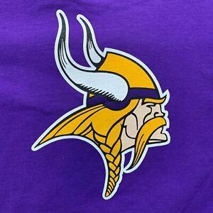 Percy Harvin Minnesota Vikings Purple T-Shirt Medium NWT