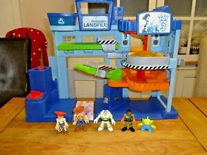 Imaginext TOY STORY Landfill Playset Plus figures