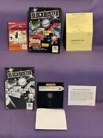 BLOCKBUSTER By Audiogenic Software Limited For Commodore 64/128 CIB 1987
