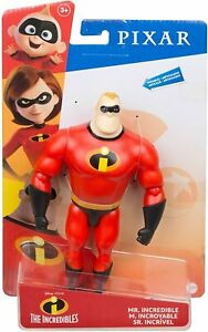 Disney Pixar Mr. Incredible Figure Incredibles Toys Pixar Posable NEW