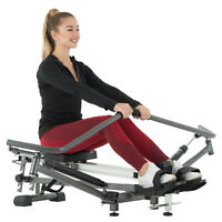 Folding Magnetic Rowing Machine Rower Exercise Cardio Adjustable Resistance LCD