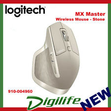 Logitech MX Master Wireless Mouse Optimized for Windows & Mac Stone Colour