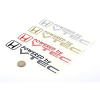 Powered By VTEC STICKERS Decal Vinyl 200mm x2 Car Wing Panel Civic Integra CRX