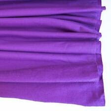 Stretch/Knit Fabric Purple Premium Plain French Terry HALF METRE