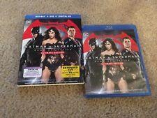 BATMAN V SUPERMAN ULTIMATE EDITION BLURAY + DVD