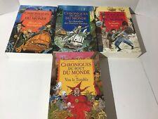 4 Books Chroniques Du Bout Du Monde French versions Stewart & Riddel