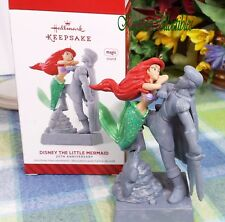 Disney The Little Mermaid 25th Anniversary 2014 Hallmark Keepsake Ornament Ariel