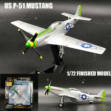 USA P-51 Mustang 8AF aircraft 1/72 finish airplane Easy model non diecast