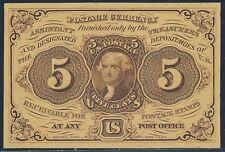 Fr1231-Sp 5¢ Obverse W/ S.E. Reverse W/O Monogram Fractional - Gem Cu - Bt730